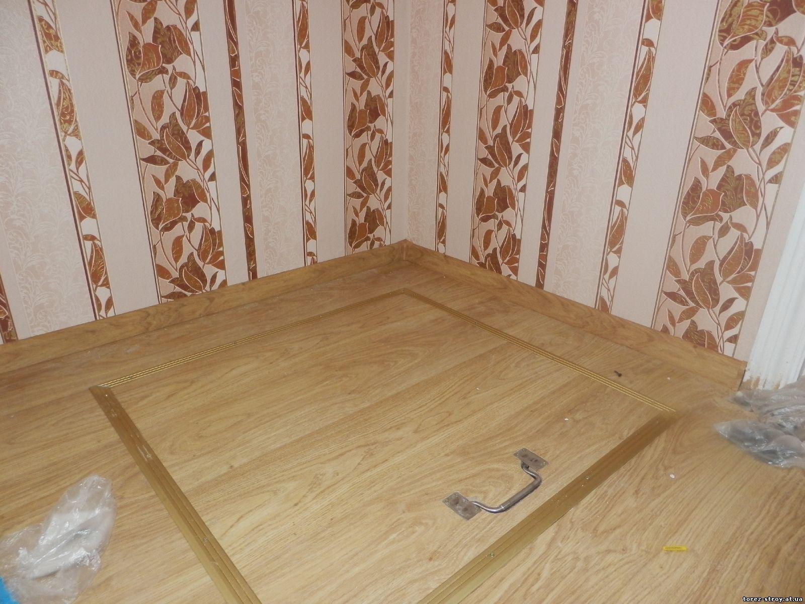 Как сделать люк на кухне в полу